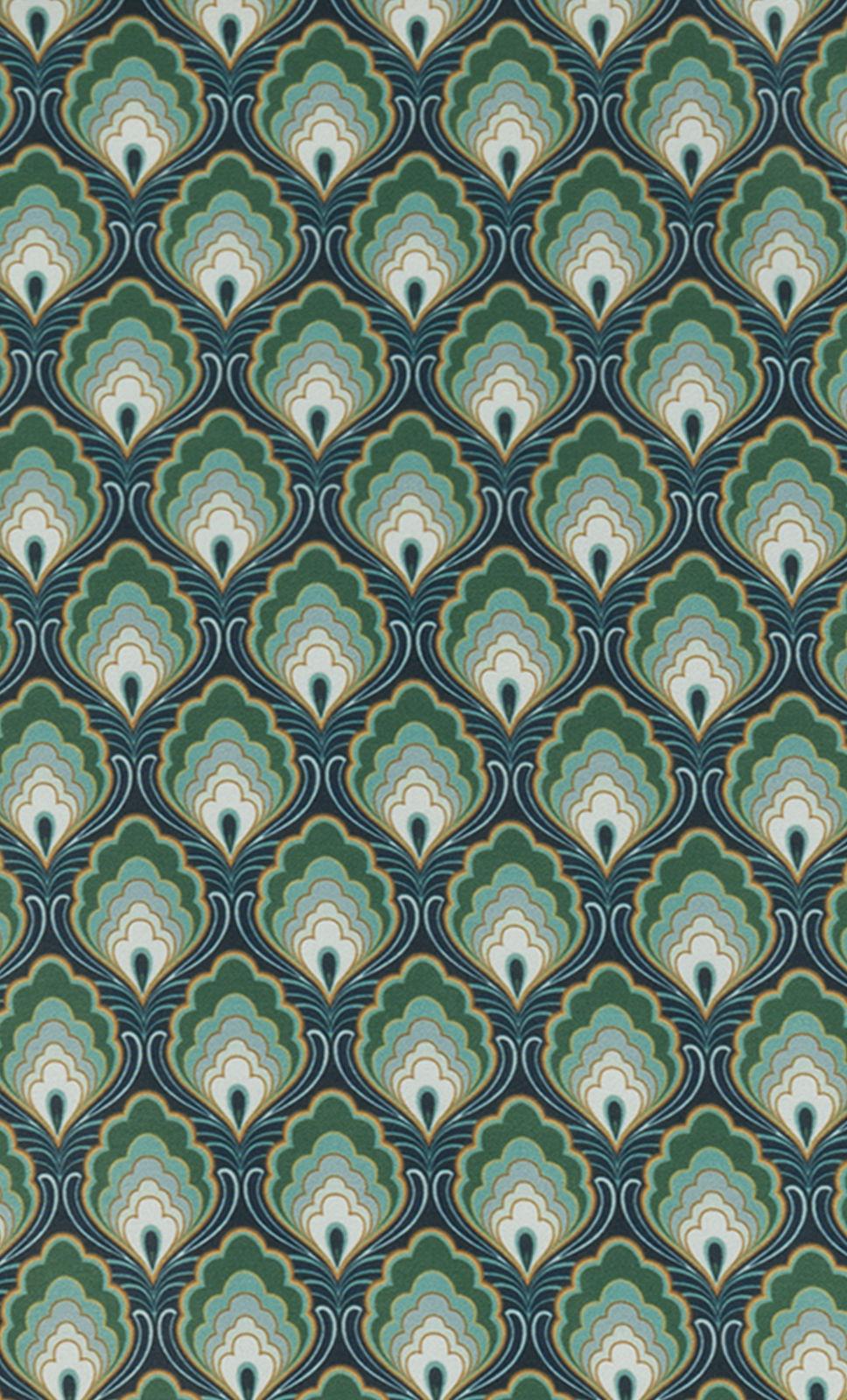 Marigold-Peacock-Green