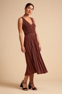 Anna Plisse Dress Luppo