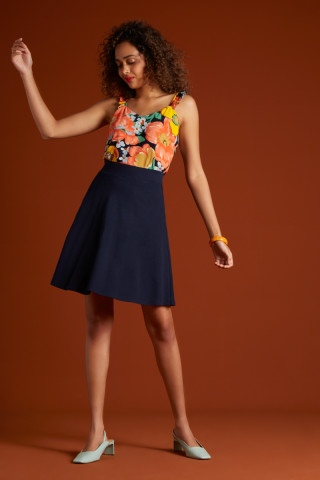 Sofia Skirt Milano Crepe