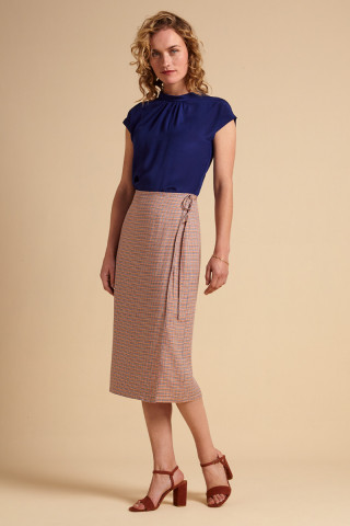 Straight Wrap Skirt Verveine