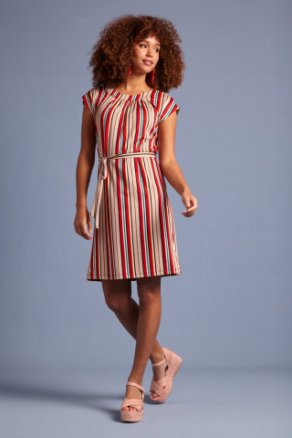 Shirley Dress Lido Stripe
