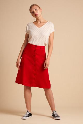 Fifi Skirt Uni Tencel Woven