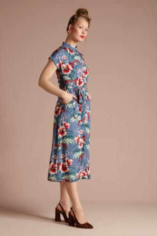 Olive Midi Dress Colada