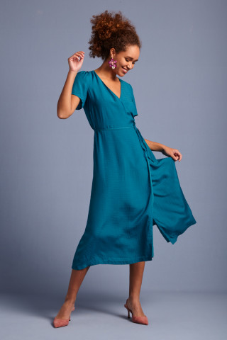 Wrap Dress Beauvoir