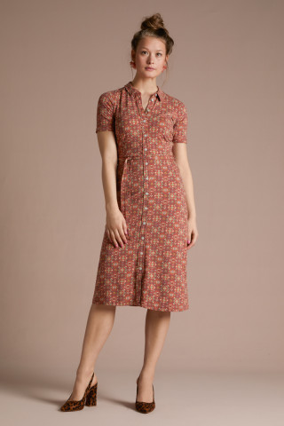 Rosie Midi Dress Regency
