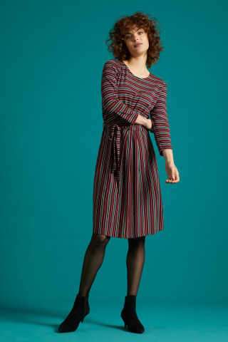 Hailey Dress Nippon Stripe
