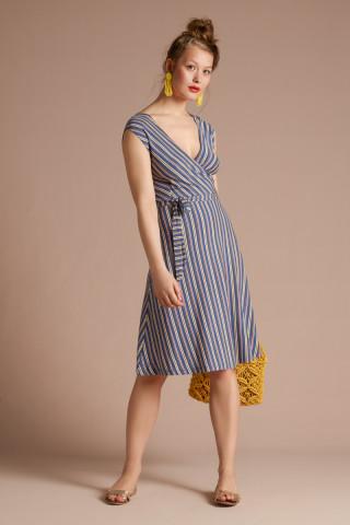 Mira Dress Gelati Stripe