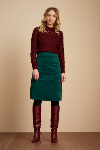 Juno Skirt Suede