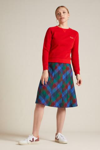Harper Skirt Cornel Check