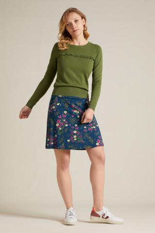 Border Skirt Yuko