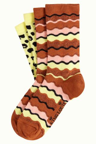 Socks 2-Pack Wavy