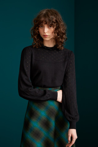 Izu Sweater Heart Ajour