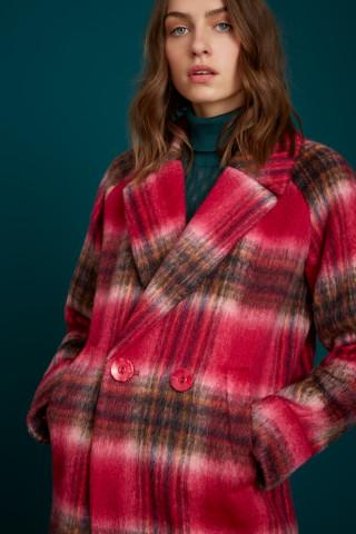 Amelie Coat Brody Check