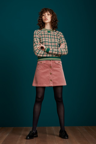 Caroll Mini Skirt Corduroy