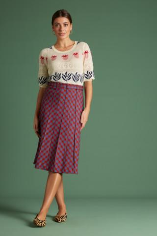 Harper Skirt Trinity Check