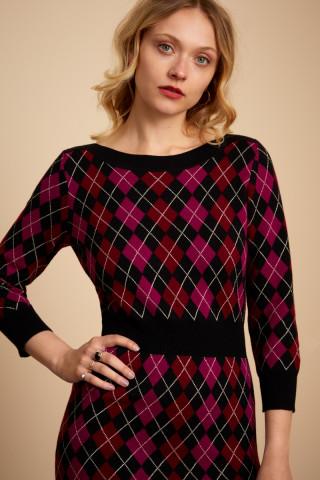 Audrey Dress Bibi Check