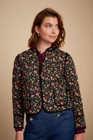 Mia Quilted Jacket Buttercup