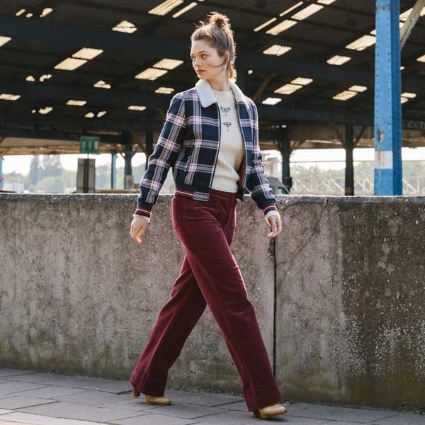 Shop the Look Garbo Straight Pant Colonne AW19