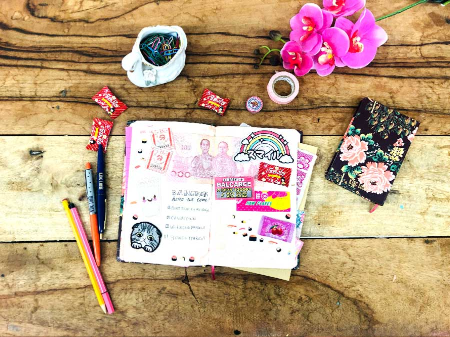 How to write a travel diary